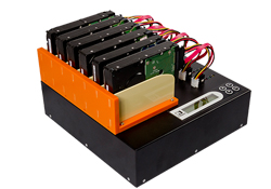 MT Hard drive duplicator –left