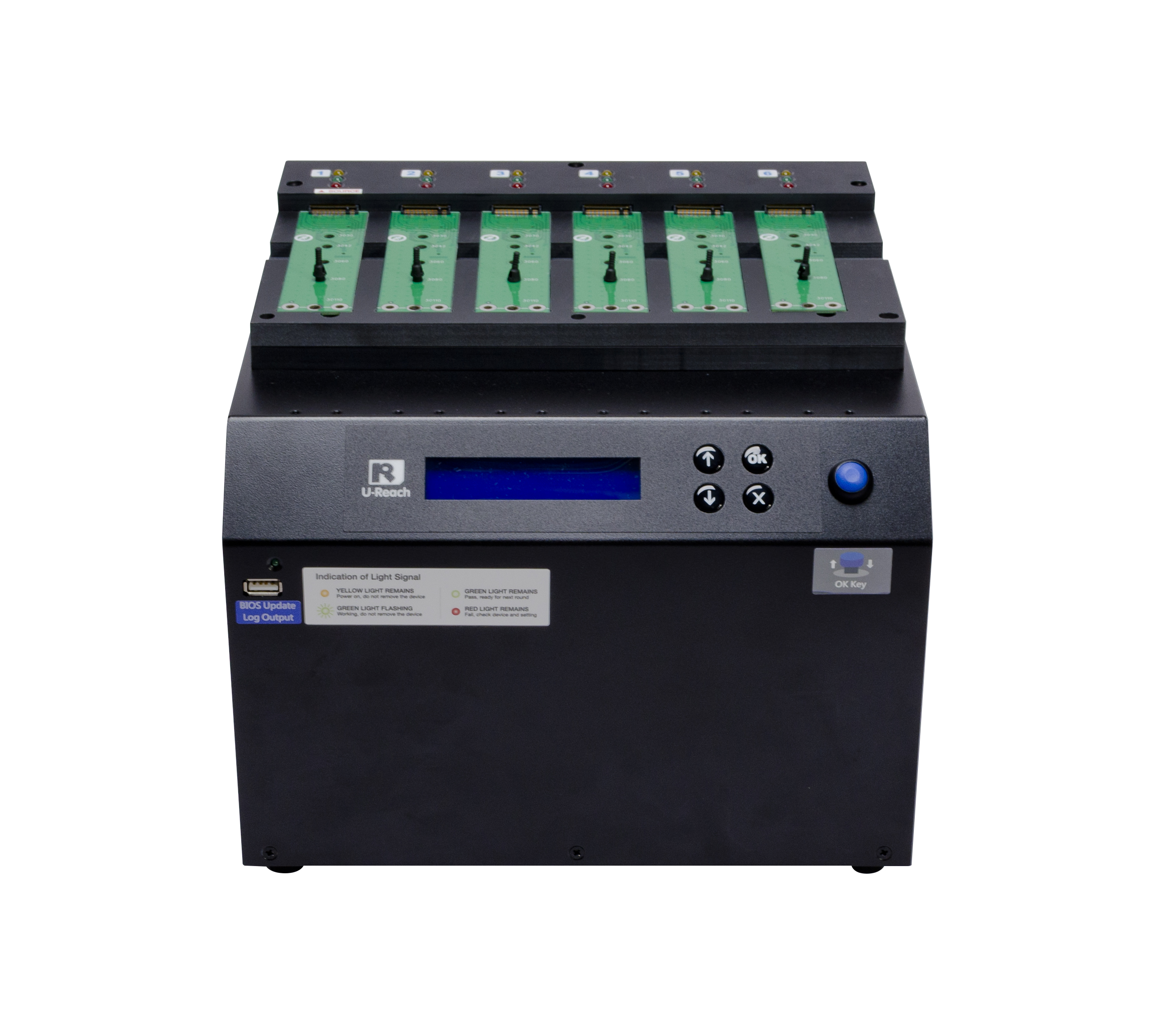 IT hard drive duplicator- cable-free