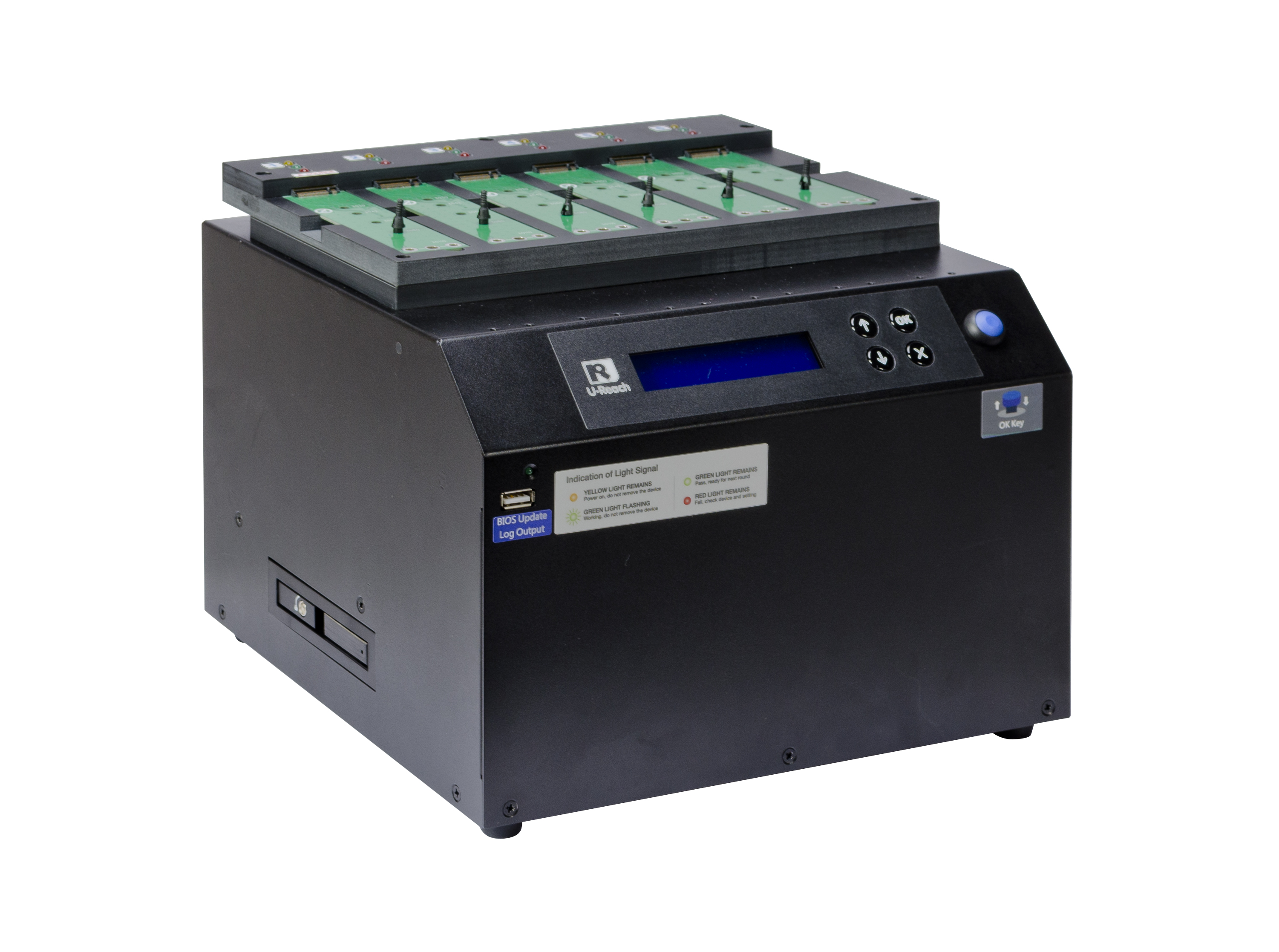 IT hard drive duplicator- cable-free