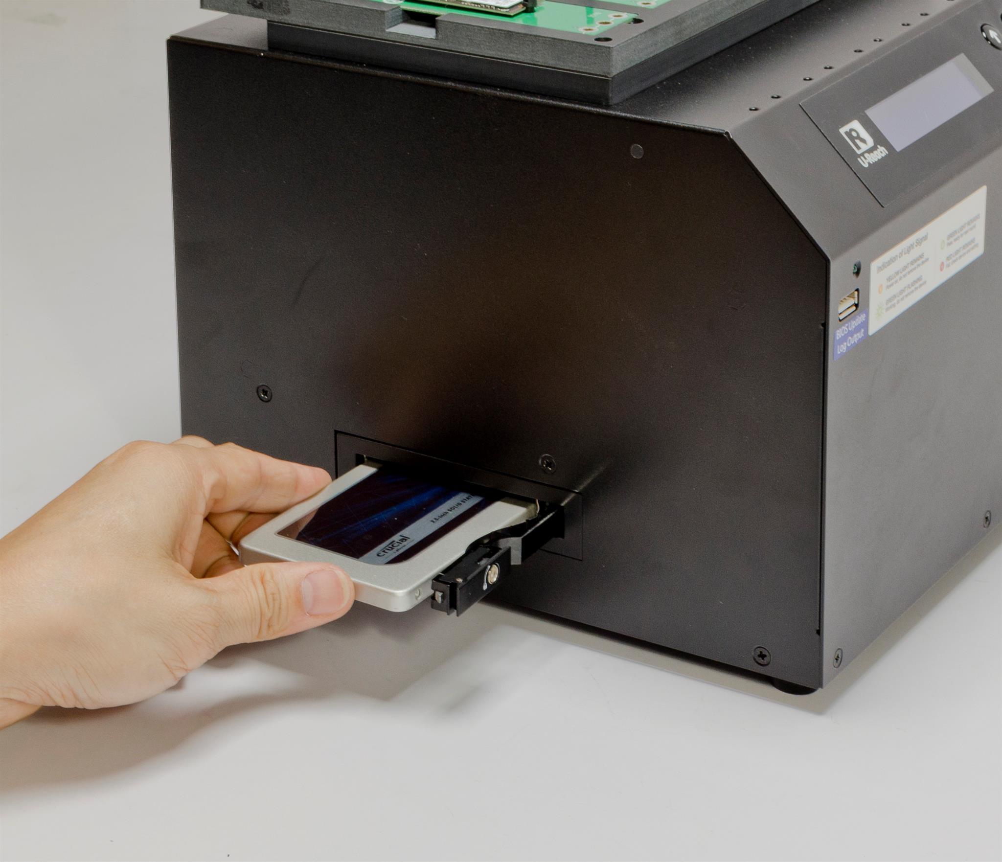 IT hard drive duplicator- various interface